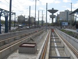 Szeged, 2-es és 4-es villamos pálya rekonstrukció